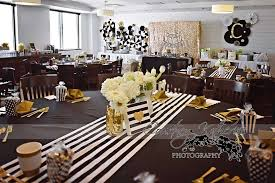exquisite decoration black and gold baby shower decorations