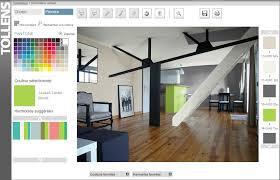 simulation peinture chambre simulateur couleur gratuit inspiration de conception de maison