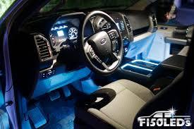 ford raptor interior 2017 2015 18 f150 interior cup holder ring light kit f150leds com