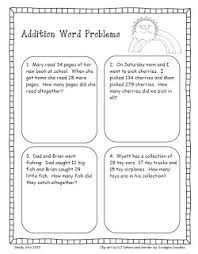 addition word problems grade 2nd grade story problems lessons tes teach