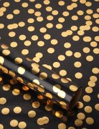 fancy wrapping paper christmas new year snow flakes black wrapping paper flakes