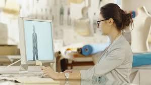digital drawing website fashion clothes designer works with digital drawing tablet
