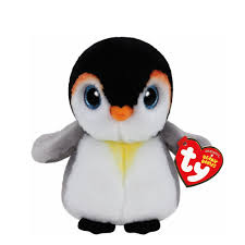 ty beanie baby small pongo the penguin plush toy claire u0027s us