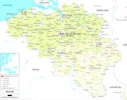 Map Of Belgium In Europe by Belgium Map In Map Of The World Belgium Evenakliyat Biz