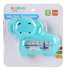 bathtub thermometer floating abs safety floating lovely elephant baby kids water bath
