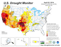 West Coast Map Usa by Drought April 2016 State Of The Climate National Centers For