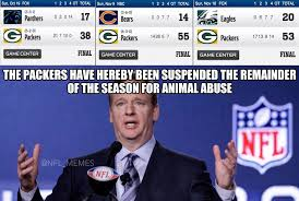 Funny Packer Memes - packers are getting suspended greenbaypackers