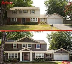 retro ranch 5 curb appeal before and afters that u0027ll knock your