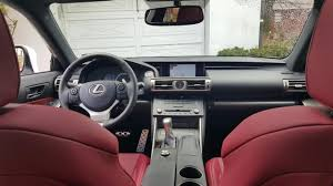 lexus rcf white interior ultra white u002716 is300 f sport build journal clublexus lexus