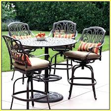 High Patio Chairs High Outdoor Table And Chairs High Top Outdoor Patio Furniture