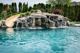 Custom Pools By Design by Custom Inground Pools Interior Design