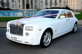 roll royce toyota royce phantom white color car
