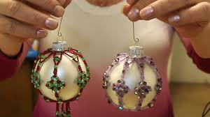 4 point beaded ornament cover