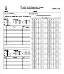 Basketball Stat Sheet Template Excel Basketball Sheet Template Dh Scorecard 23 Best Scorecards