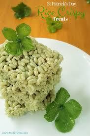 green rice krispie treats easy st patrick u0027s day recipes