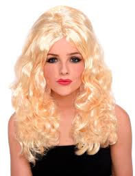 bimbo hairpieces blonde bimbo wig for ladies wigs and fancy dress costumes vegaoo