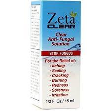 amazon com zetaclear nail fungus topical treatment solution