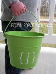 easter pails diy chalkboard easter pails easter ideas