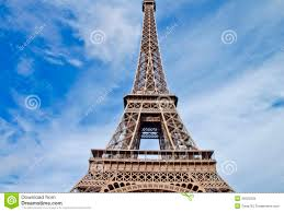 Beautiful Eiffel Tower by Beautiful Scene In Eiffel Tower Paris France Royalty Free Stock