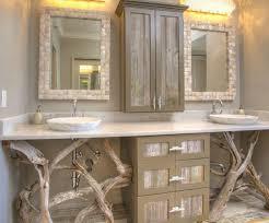 simple rustic bathroom designschic wooden bathroom vanity in