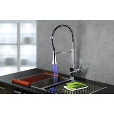 led kitchen faucets sumerain led thermal kitchen faucet free shipping today