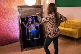 photo booth houston magic selfie mirror iheart flipbooks