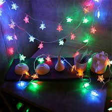 10m 80led string lights shaped theme led string light
