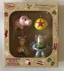 A Christmas Story Ornament Set - disney store 2016 toy story mini buzz woody sketchbook christmas