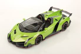 red chrome lamborghini lamborghini veneno roadster 1 18 mr collection models