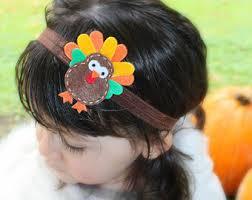 turkey headband etsy