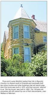 set in stone wohlfort house republic county kansas economic