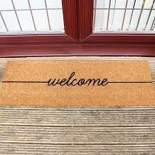 Patio Door Mat Buy Artsy Doormats Welcome Patio Door Mat Amara