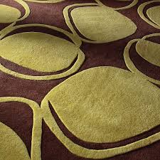 Green Modern Rug Green And Brown Rug Home Rugs Ideas