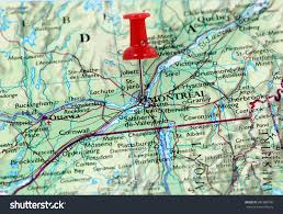 Montreal Canada Map Map Pin Point Montreal Canada Stock Photo 381888790 Shutterstock