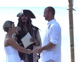 how to officiate a wedding sparrow officiating pirate wedding