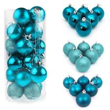 48x tree 30mm balls decoration baubles wedding