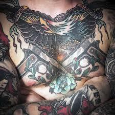 80 pistol tattoos for men manly sidearm designs
