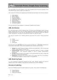 tutorialspoint uml class diagram uml tutorial