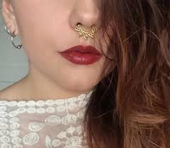 nose piercing rings images 2015 new silver rose blue black rainbow color indian septum nose jpg