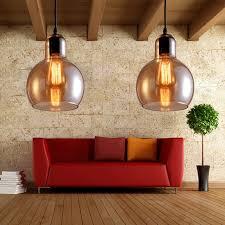 america country lighting vintage loft glass pendant l edison