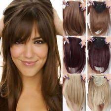 clip in fringe clip on fringe wigs extensions supplies ebay