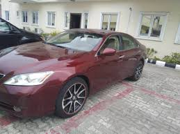 lexus es 350 for sale in nigeria clean mint 07 2008 lexus es350 price 2 980m not negotiable