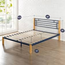 Ikea Hacks Platform Bed Bed Frames Queen Bed Frame Wood King Platform Bed Ikea Hack