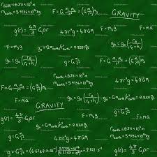 gravity lesson chalk on chalkboard wallpaper shelleymade