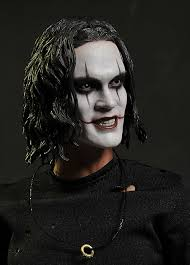 the crow sixth scale action figure from hot toys middot the crow makeup tutorial