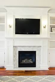 Bookshelf Around Fireplace How To Design And Build Gorgeous Diy Fireplace Built Ins White