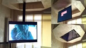 tv a soffitto tv moving mfl staffa tv motorizzata da soffitto per tv scomparsa