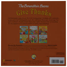 thanksgiving prayers and blessings the berenstain bears give thanks berenstain bears living lights
