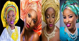 mariage africain maquillage et gele 12 sublimes femmes avec le gele africain