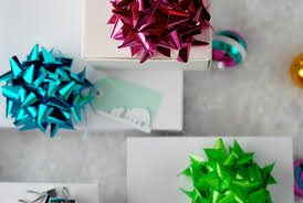 big bow gift toppers a subtle revelry